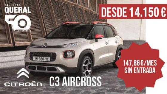 oferta-citroen-c3-aircross-talleres-queral-